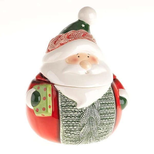 Dóza na sušenky Santa