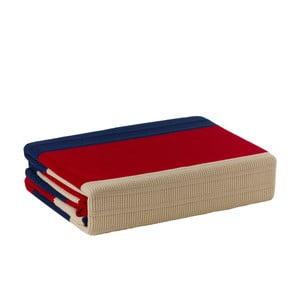 Pletená deka Colourful, 170x220 cm