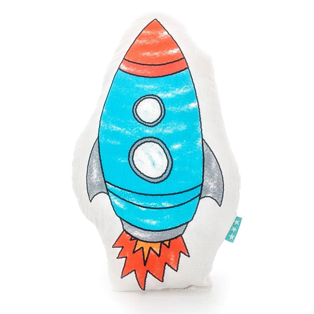 Bavlněný dětský polštářek Mr. Fox Space Rocket 40 x 30 cm
