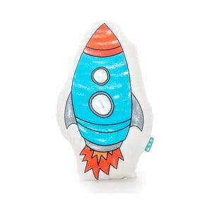 Bavlněný dětský polštářek Mr. Fox Space Rocket 40x30cm