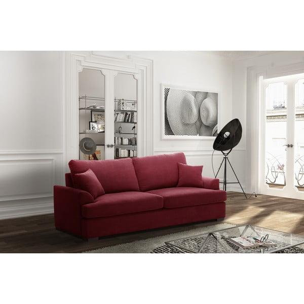 Třímístná pohovka Jalouse Maison Irina, červená