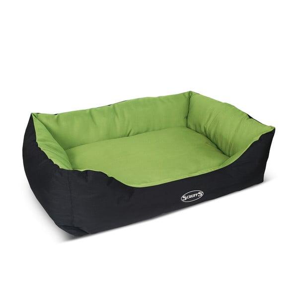 Psí pelíšek Expedition Bed XL 90x70 cm, limetkový