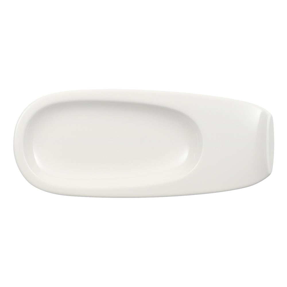 Bílý porcelánový podšálek Villeroy & Boch Urban Nature, 19 x 8 cm