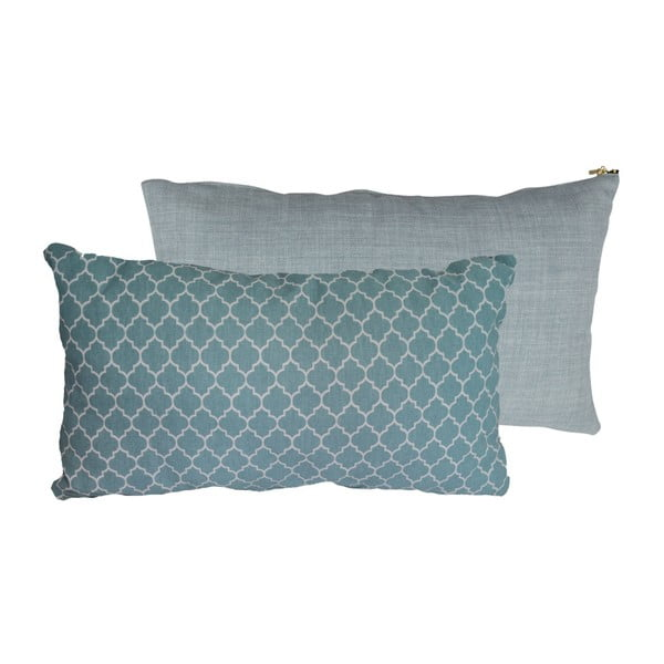 Set 2 perne Karup Deco Cushion Moroccan Pepper/Sky Blue, 45 x 25 cm