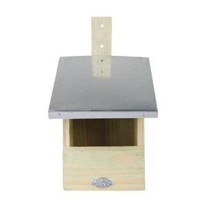 Ptačí budka z borovicového dřeva pro lejsky Esschert Design, výška33,3cm