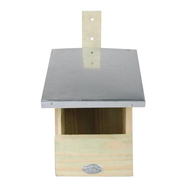 Budka dla ptaków z drewna sosnowego dla muchołówki Esschert Design, wys. 33 cm
