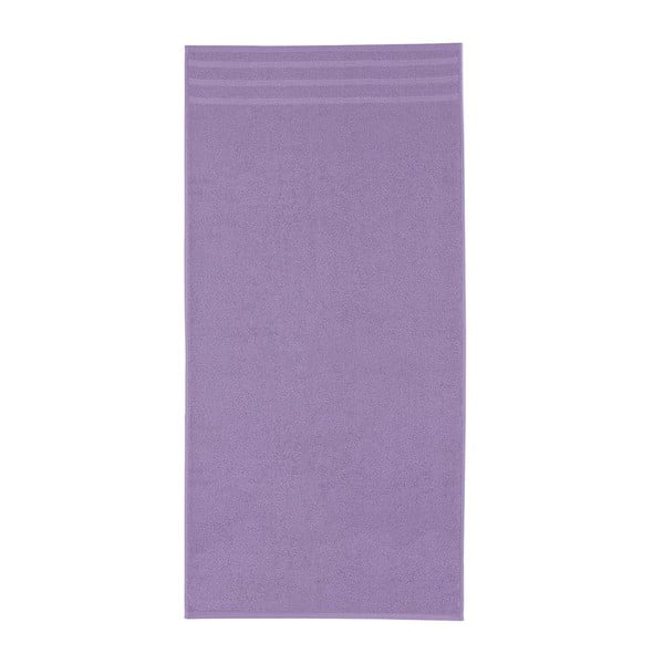 Set fialových osušek, 50x100 cm, 2 ks