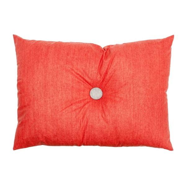 Polštář Button Coral, 60x45 cm