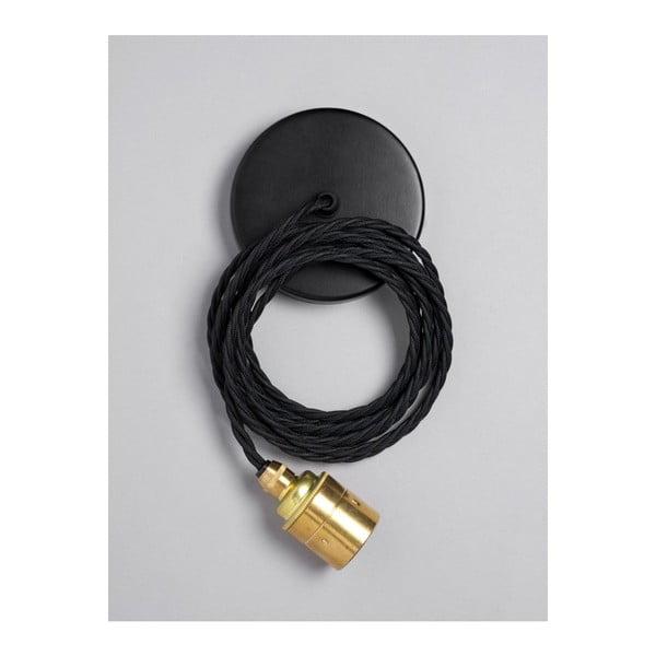 Závěsný kabel Brass Skirt Raven Black