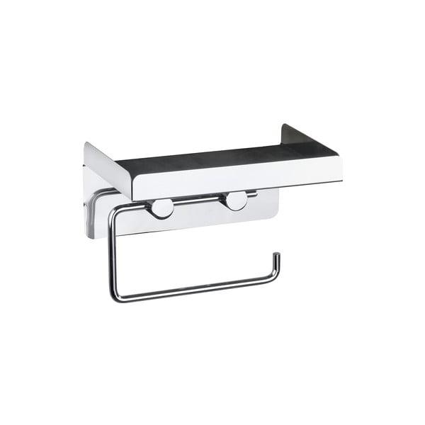 Samodržící držák na toaletní papír 2v1 Wenko