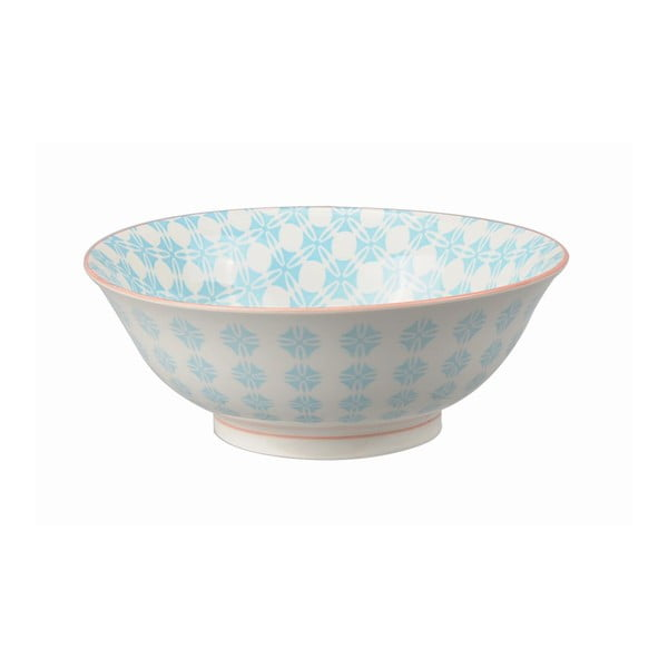 Porcelánová miska Soba Colored Blue, 21x7,8 cm