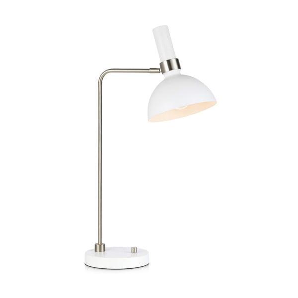 Bílá stolní lampa Markslöjd Larry