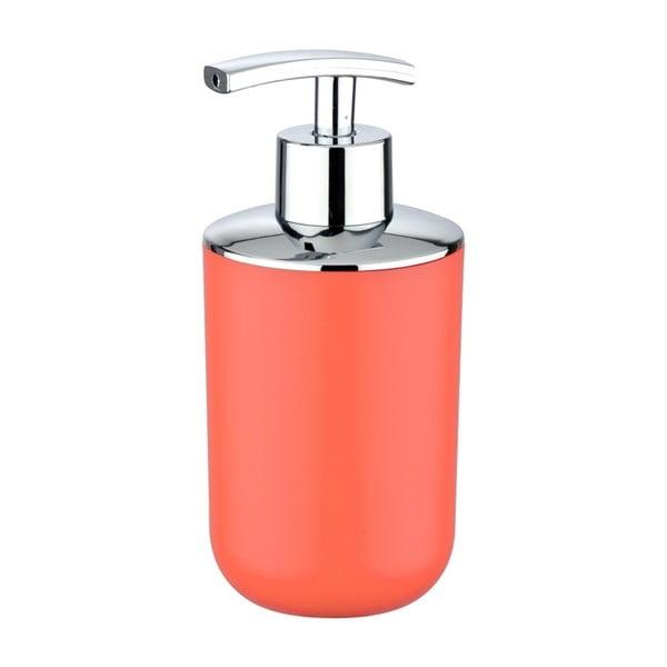 Korálově červený dávkovač na mýdlo Wenko Brasil
