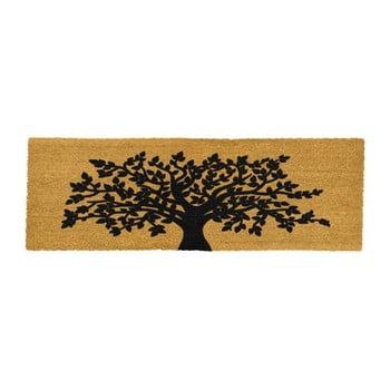 Covoraș intrare lung din fibre de cocos Artsy Doormats Tree Of Life 120 x 40 cm