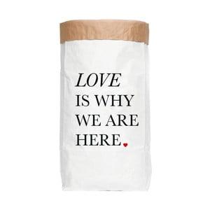Úložný pytel z recyklovaného papíru Really Nice Things Ordenacion Love