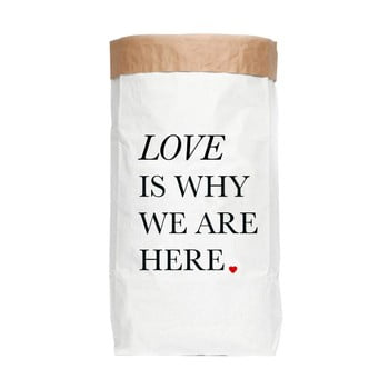 Sac depozitare din hârtie reciclată Really Nice Things Ordenacion Love
