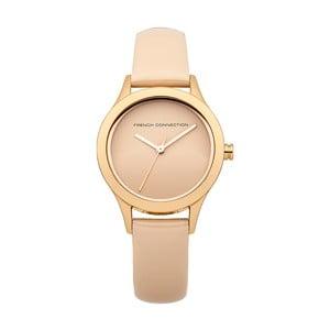 Béžové dámské hodinky French Connection Nicole