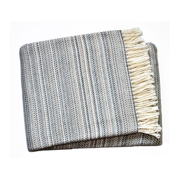 Tmavě šedá deka Euromant Toscana, 140x180cm