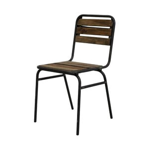 Sada 2 jídelních židlí z elmového dřeva vhodná do exteriéru Red Cartel Camberra Beau