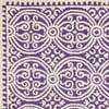 Vlněný koberec Marina Purple, 152x243 cm