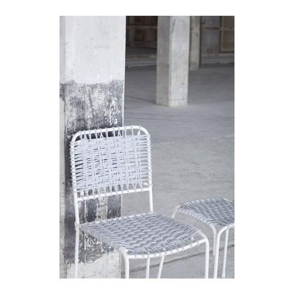Stolička Cuerda, modrá