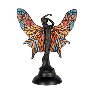 Tiffany stolní lampa Angel with Wings