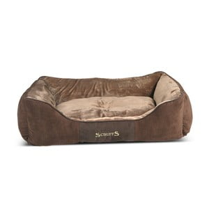 Psí pelíšek Chester Bed XL 90x70 cm, čokoládový