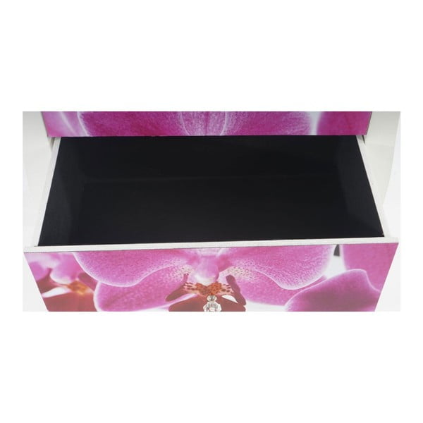 Stolek se zásuvkami Dresser Orchid, 70x60x36 cm