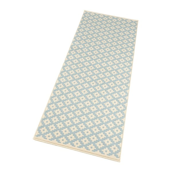 Modrý koberec Hanse Home Celebration Raggo, 80 x 150 cm