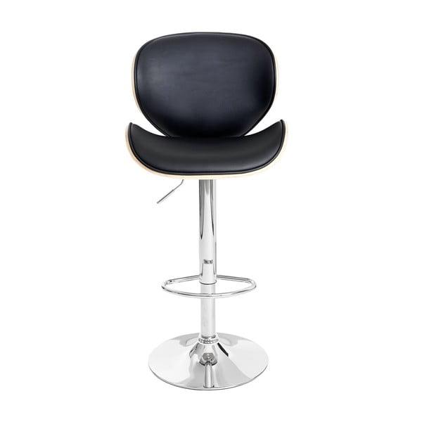Černá barová židle Shabby Arklow