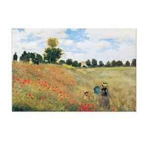 Monet - Vlčí máky v Argenteuil