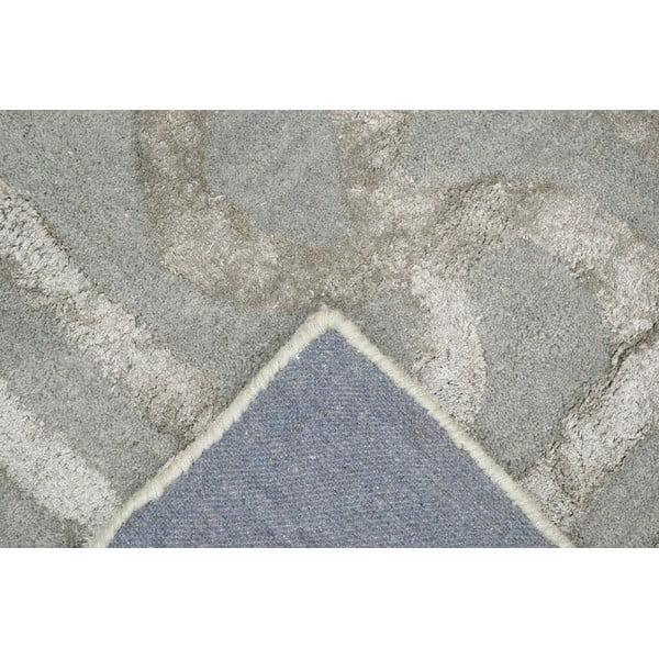 Koberec Twist Silver, 153x244 cm