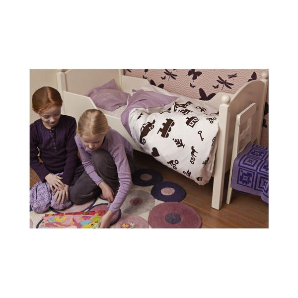 Povlečení junior 100x140 cm, lavender