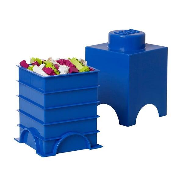 Úložný boxík Lego Movie, červený