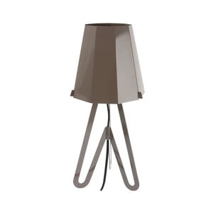 Stolní lampa Flow, grey/black