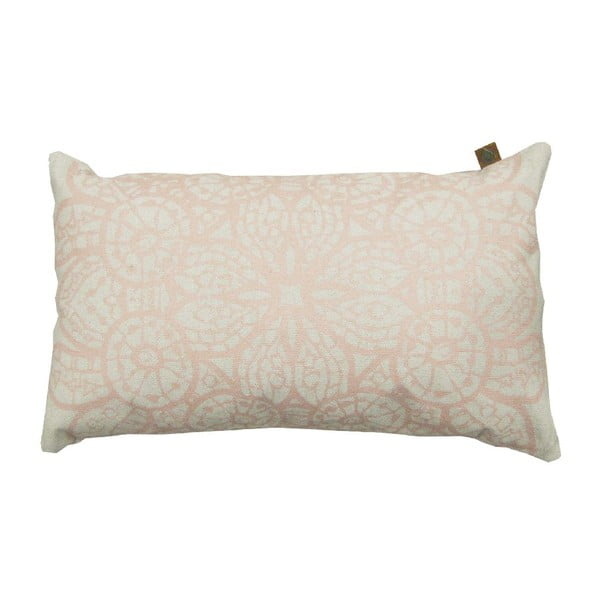 Krémový polštář OVERSEAS Lace,30x50cm