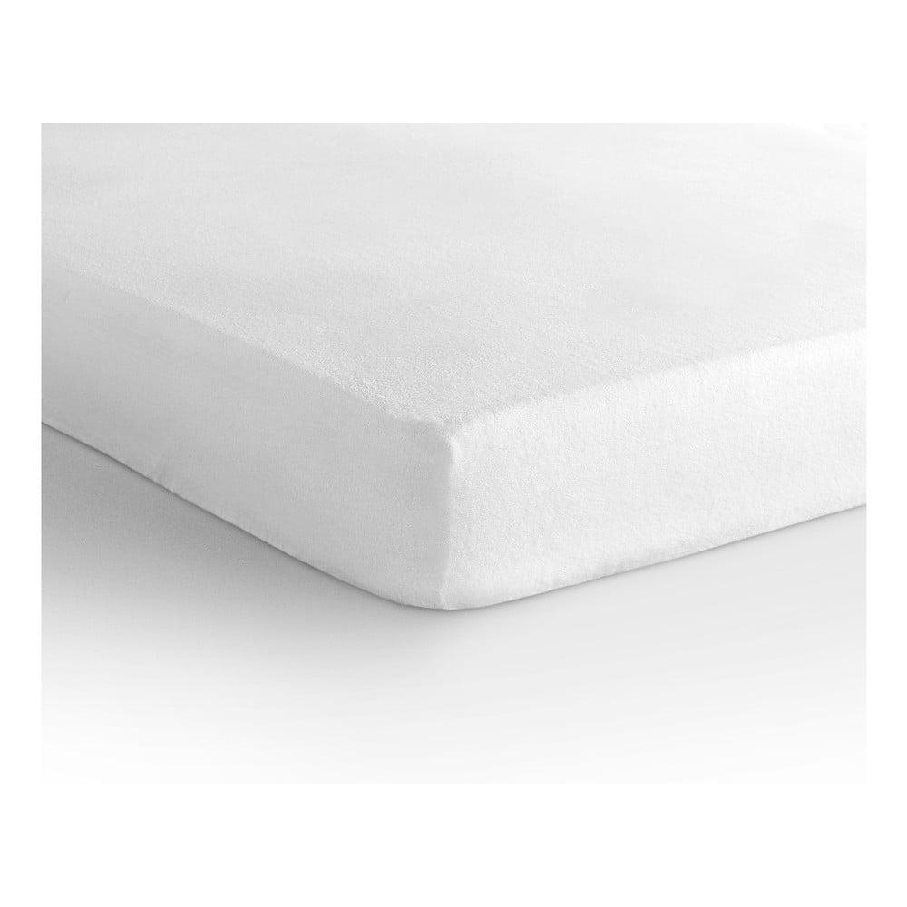 Bílé elastické prostěradlo Sleeptime,200x230cm