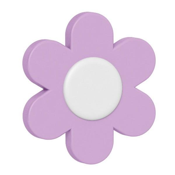 Dekorativní klipsy na květináč Flower Violet/Light Violet/Pink, 3 ks