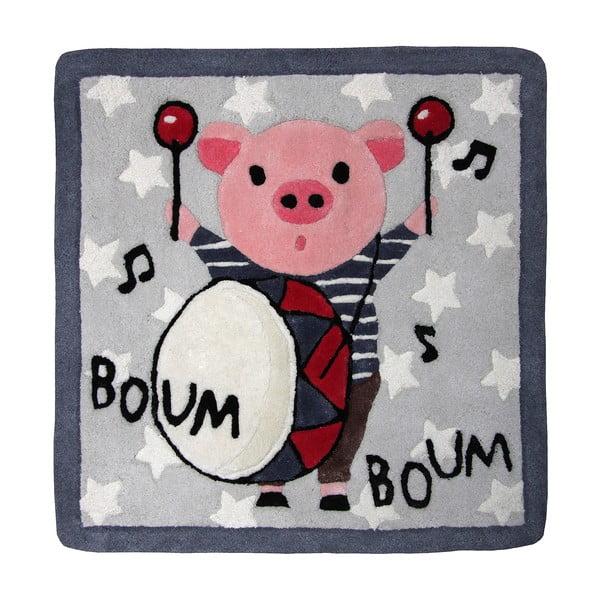 Dětský koberec Boum Boum, 70x70 cm