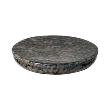 Platou din gresie ceramică Costa Nova Roda Iris, ⌀ 16 cm, gri