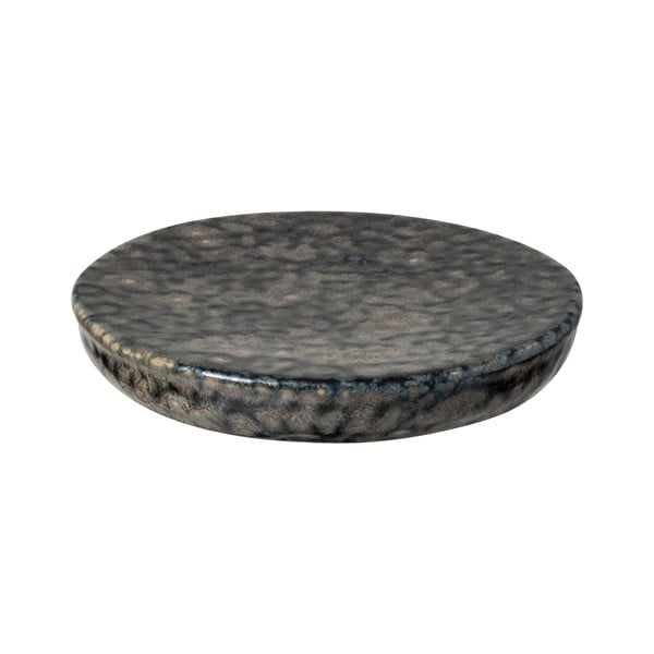 Sivá kameninová tácka Costa Nova Roda Iris, ⌀ 16 cm