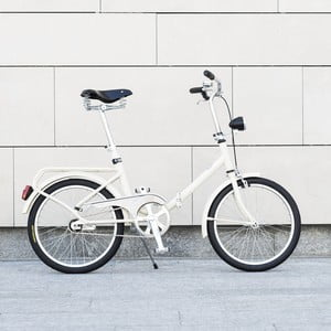 Skládací kolo Dude Bike Top, bílé