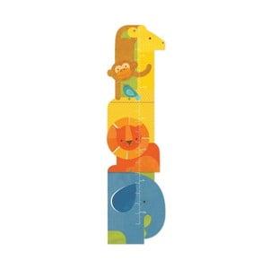Dětský nástěnný metr Petit collage Animal Tower