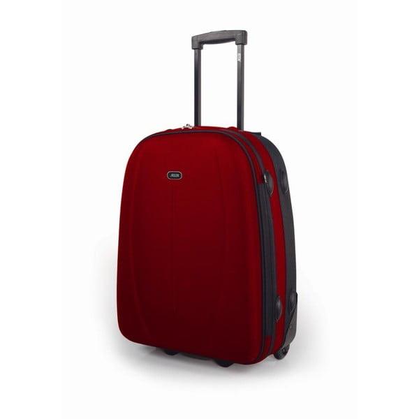 Červené kabinové zavazadlo Jaslen