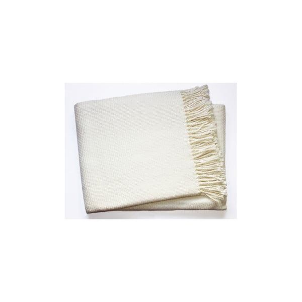 Krémová deka Euromant Zen, 140x180cm