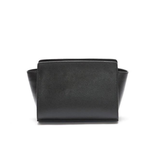 Kožená kabelka Mangotti 446, černá