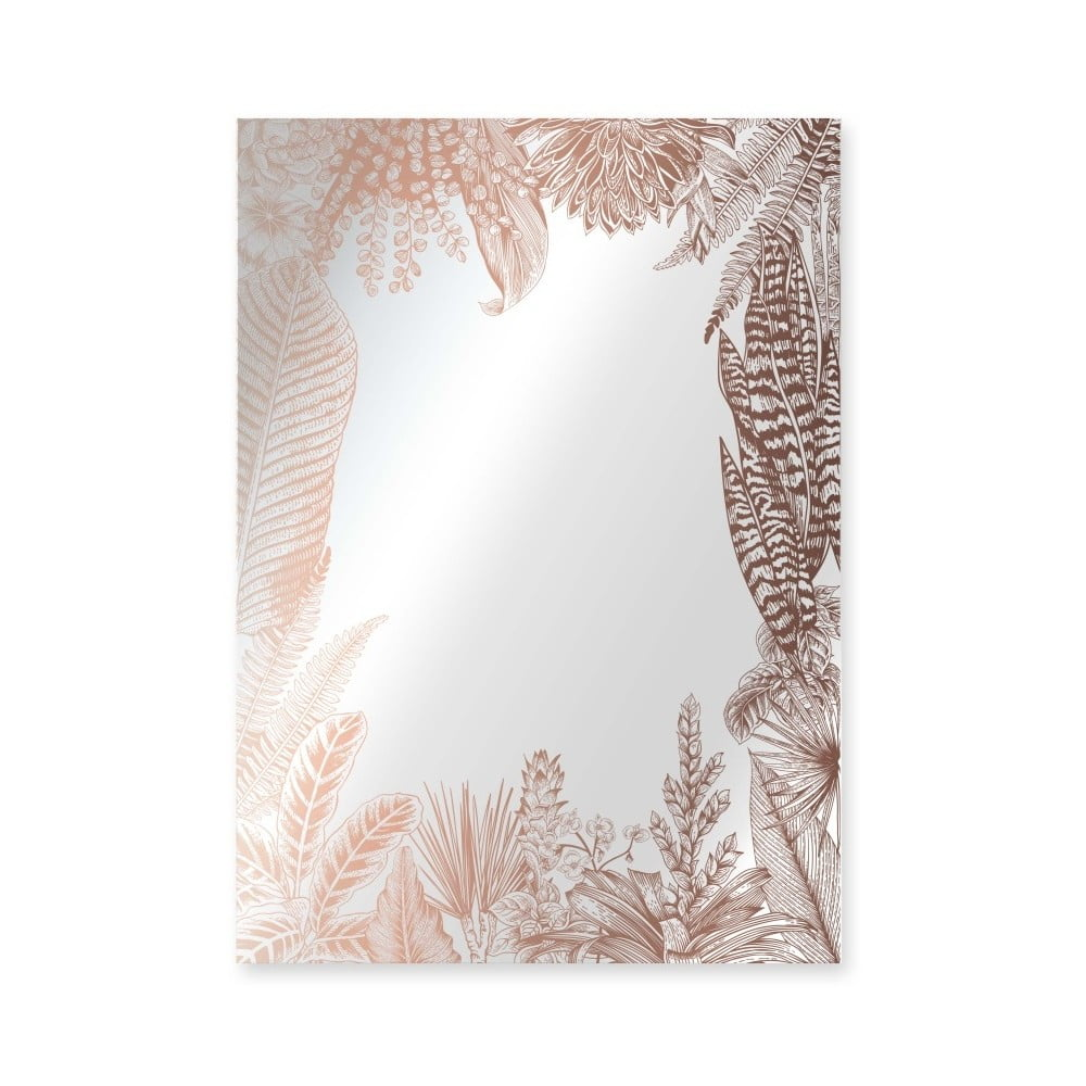 Nástěnné zrcadlo Surdic Espejo Kentia Copper, 50 x 70 cm