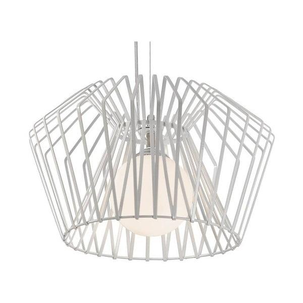 Bílé stropní svítidlo Cage, 85cm