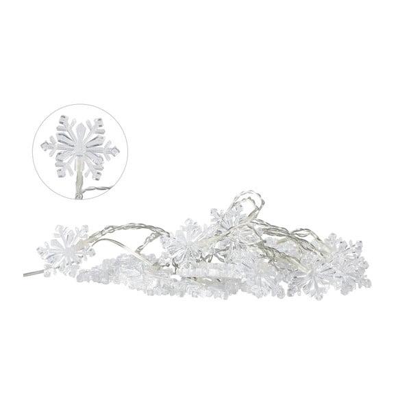Șirag luminos LED Villa Collection Snowflake, 20 becuri