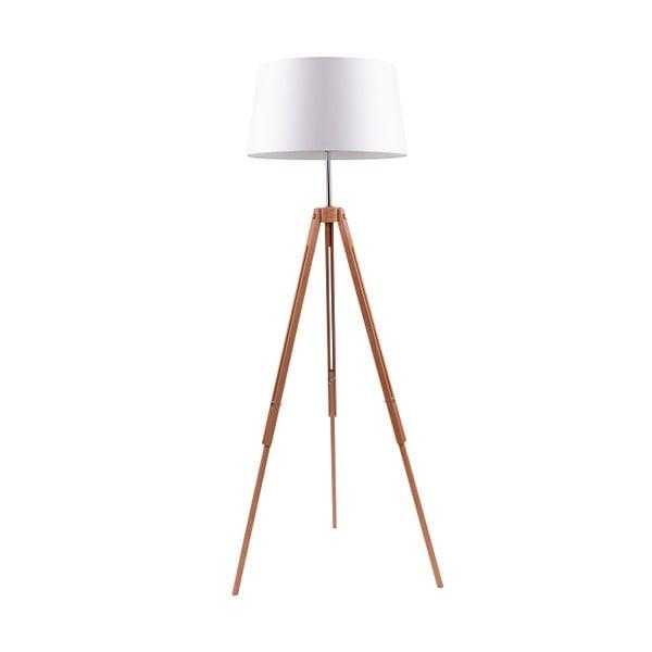Bílá stojací lampa BRITOP Lighting Tripod Britop